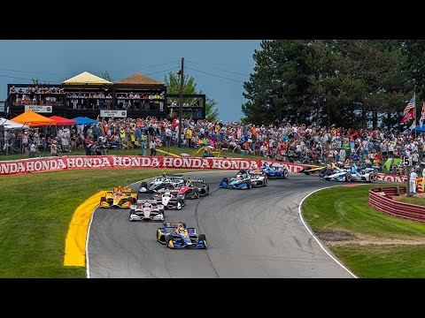 IndyCar weekend doubleheader schedule at Mid-Ohio