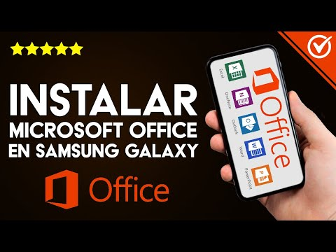 Cómo Descargar e Instalar Office (Word, Excel, PowerPoint) en un Samsung Galaxy en Español