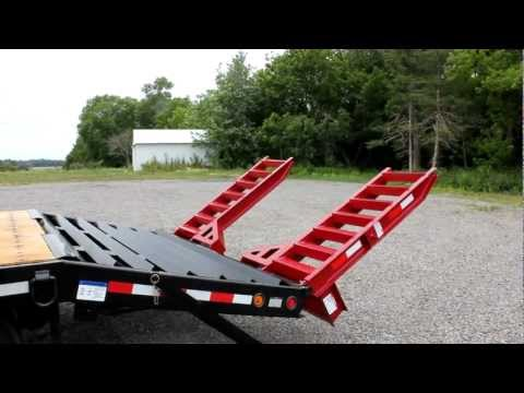 Towmaster Trailers Air-Lift Ramp Option