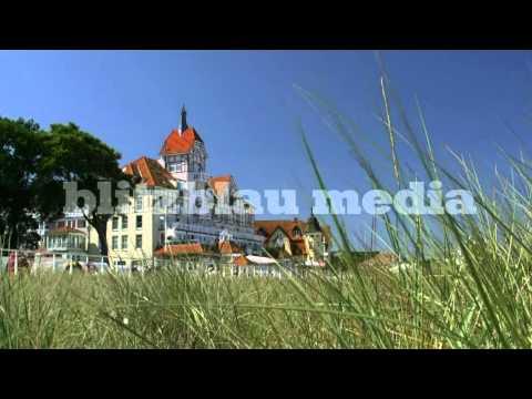 Stock Footage Europe Baltic Sea Resort Town Germany Kühlungsborn Mecklenburg Ostsee Travel Urlaub