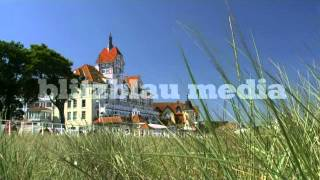 Stock Footage Europe Baltic Sea Resort Town Germany Kühlungsborn Mecklenburg Ostsee Travel Urlaub