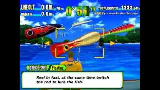 Game Sega Marine Fishing - Giant Trevally - Skip Jack Tuna.