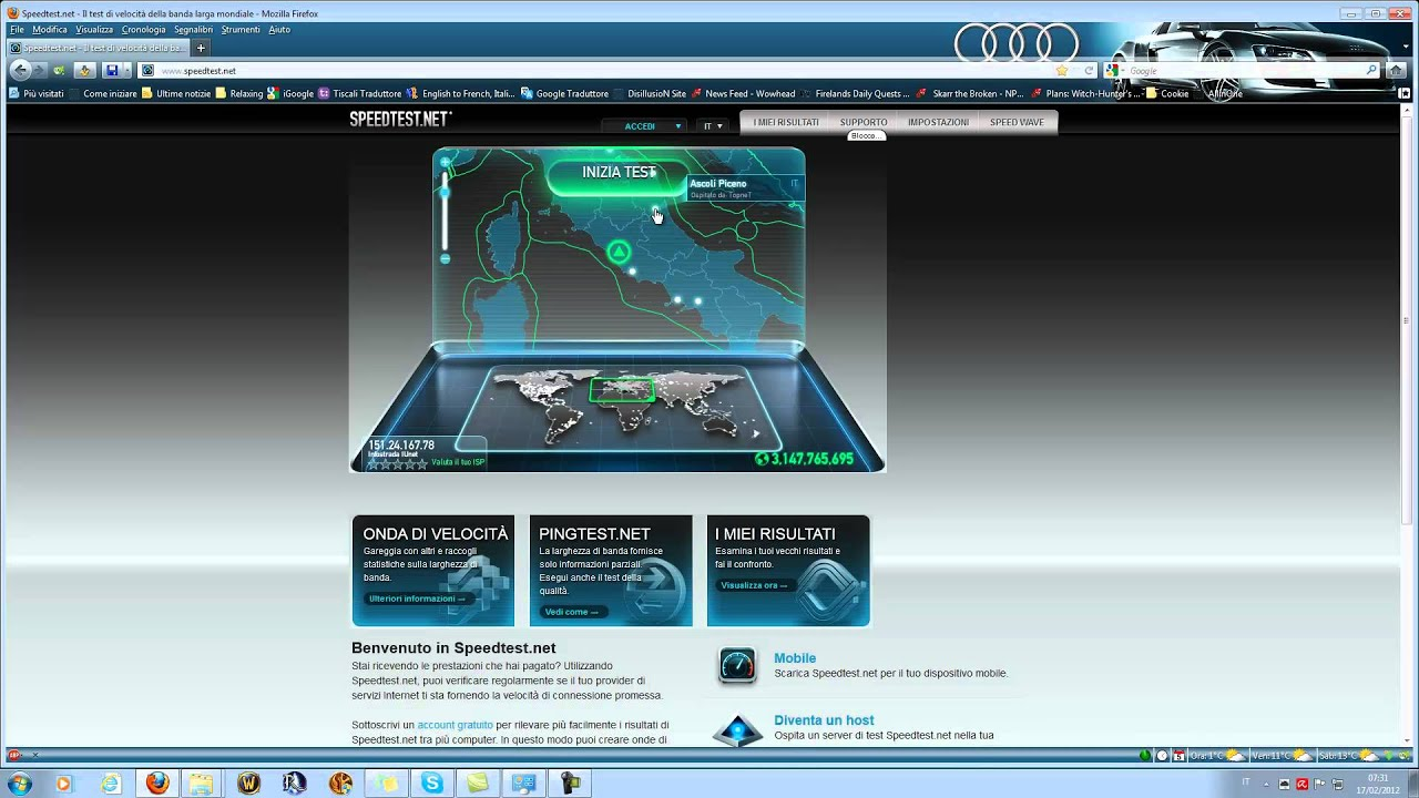 Infostrada vs ngi test youtube - Differenza tra mp3 e mp4 ...