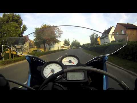 BMW K1200 Ride with GoPro HD HERO 960