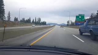 BigRigTravels Vacation Live! Coeur d'Alene to Sandpoint, Idaho US 95 North-July 15, 2019