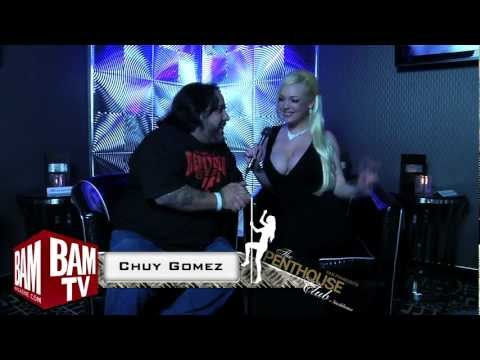 BAM Magazine @ The Penthouse Club Interviewing Sky Bleu