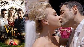 La boda de Montserrat y José Luis   Lo que la vida me robó - Televisa