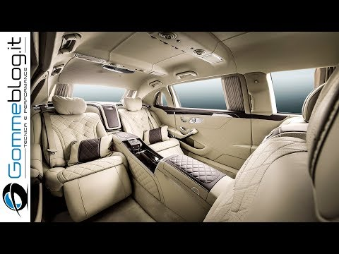 Mercedes-Maybach S600 Pullman TOP LUXURY CAR - INTERIOR Review