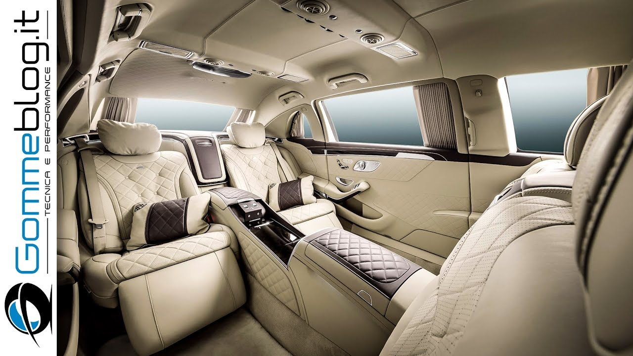 mercedes maybach s600 pullman interior review top luxury car youtube. Black Bedroom Furniture Sets. Home Design Ideas