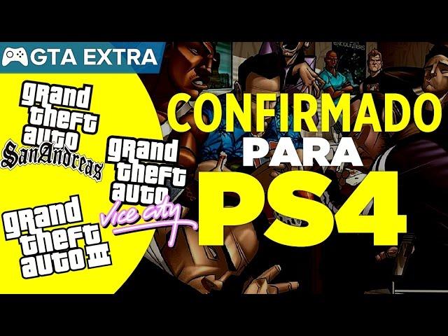 Todos Os Gtas Da Era 3d Confirmados Para Playstation 4