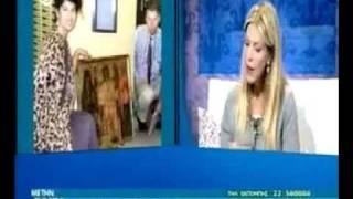 Tasoula Hadjitofi interview on Sigma TV, Cyprus (part 1)
