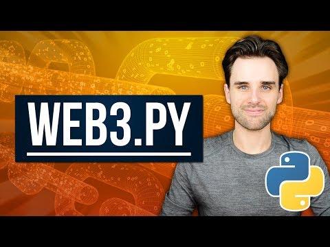Use Ethereum Blockchain With Python - Web3.py #6