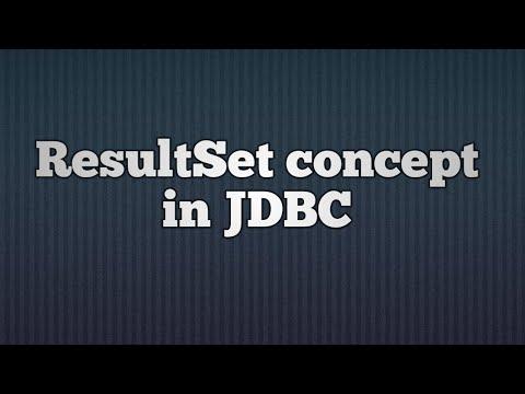 25.ResultSet Concept In JDBC | ResultSet In JDBC