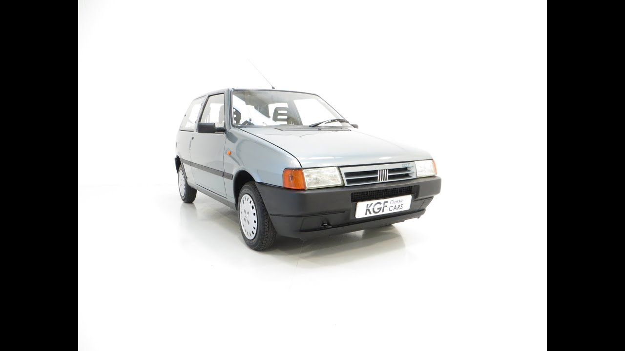 hight resolution of an italian super chic fiat uno 45 fire with one former keeper and 21 981 miles sold