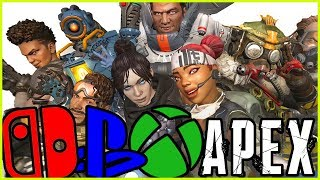 CROSSPLAY IS COMING TO APEX LEGENDS!!!