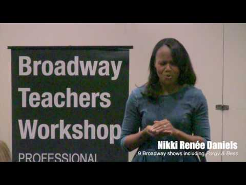 2016 Broadway Teachers Workshop Highlights Reel
