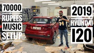 Installed 70000 Rupees Music Setup Inside I20 | 2019 Hyundai i20 | Hyundai i20 Music System Upgrade Video