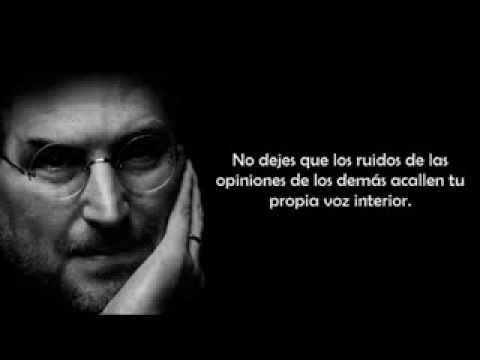 Las reflexiones motivadoras de Steve Jobs
