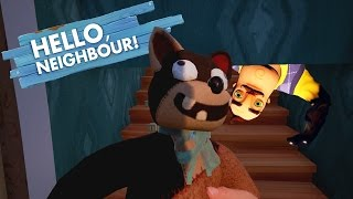 OUR NEIGHBOR HAS A NEW SECRET!?!? | Hello Neighbor Alpha 2