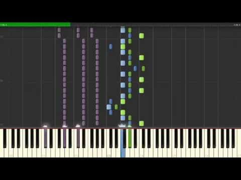 Rebel Love Song — Black Veil Brides, How To Play, Piano  Synthesia Tutorial