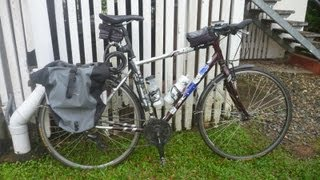 My Bicycle Touring Setup part 1 - Minimalist Southeast Asia