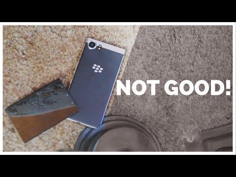 My BlackBerry KEYone broke!