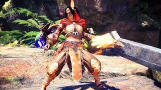 MONSTER HUNTER WORLD - All Weapon Types Gameplay @ 1080p HD ✔