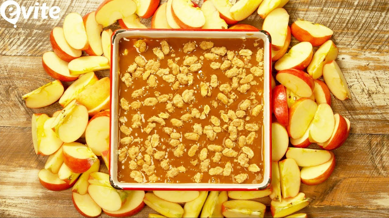 diy caramel apple dip for halloween evite recipes