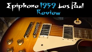 2020 Epiphone 1959 Les Paul Standard Outfit Review