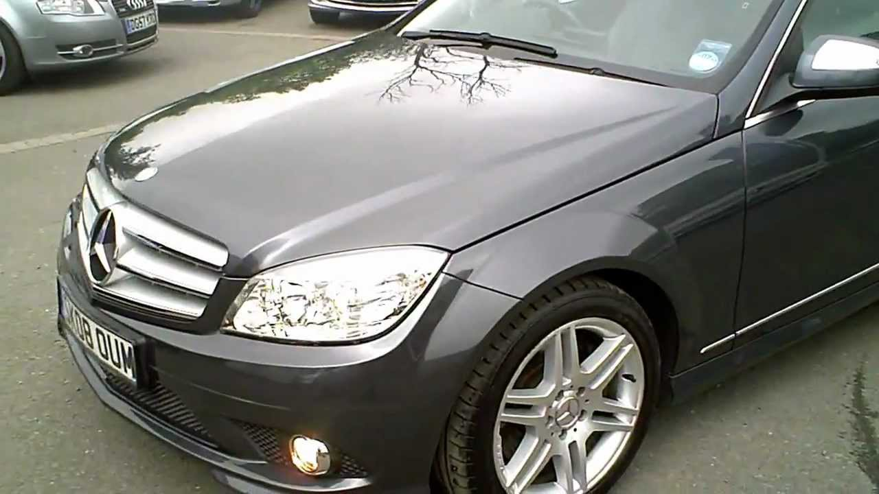 2008 mercedes c320 cdi amg sport estate diesel 3 0 v6 auto youtube. Black Bedroom Furniture Sets. Home Design Ideas
