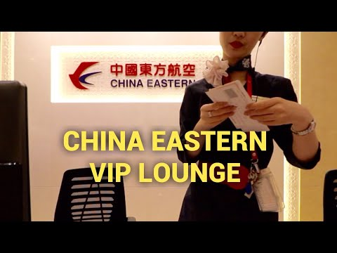 China Eastern Business Lounge Shanghai | PVG Airport