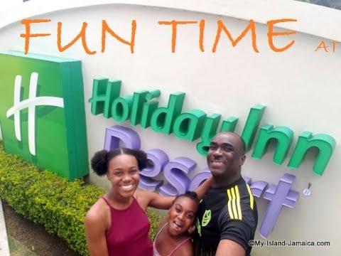 FUN DAY AT Holiday Inn Resort Montego Bay Jamaica