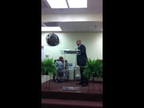 Bishop ministering to Pastor Mark Wilkerson - It's time to
