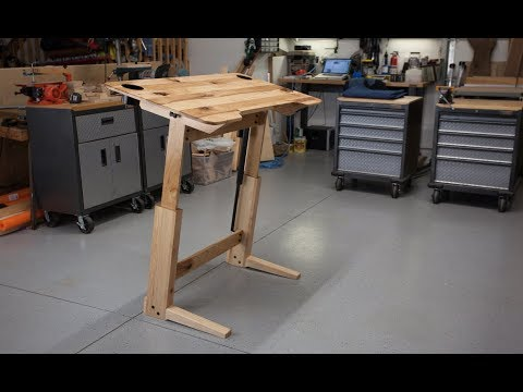 How to Build a Standing Desk / Drafting Table
