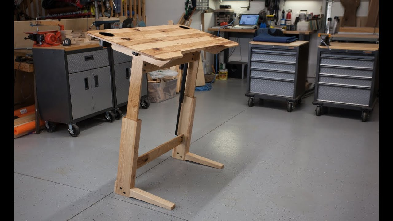 How To Build A Standing Desk Drafting Table