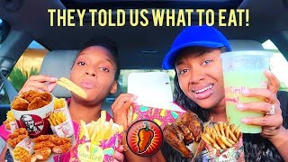 We ATE Whatever the Cashier Told Us To! | PETITE-SUE DIVINITII