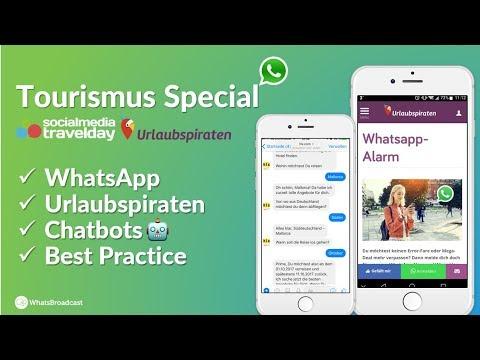Social Media Travel Day 2017: Messenger Marketing und Chatbots im Tourismus