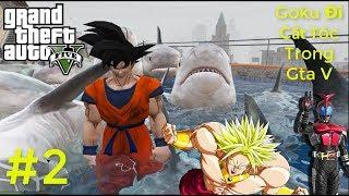 GTA 5 Mod #2 - Goku , kamen Rider Kabuto , Siêu nhân Kị mã , Broly Đi Cắt Tóc Trong Gta V Vãi Nồi