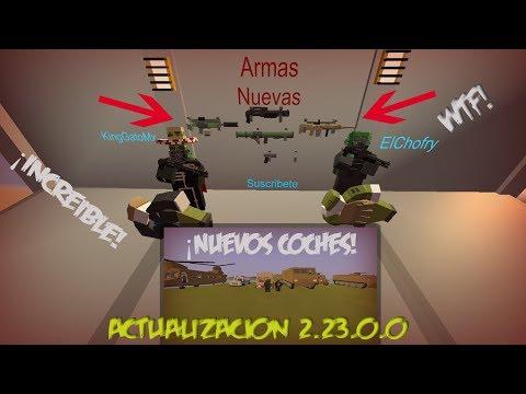 Actualizacion Unturned 3.23.0.0 Greece Coches y Armas Ocultas!(Revelando IDS)(Primera Impresion)