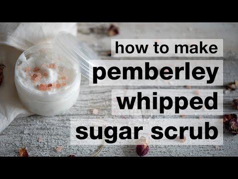 How to Make a DIY Pemberley Whipped Emulsified Sugar Scrub