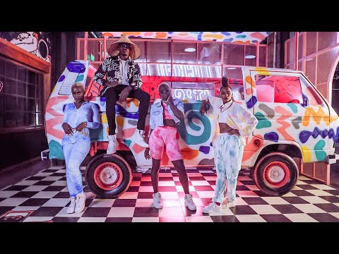 Смотреть клип Sauti Sol Ft. Bensoul, Nviiri The Storyteller, Xenia Manasseh, Okello Max & Nhp - Rhumba Japani