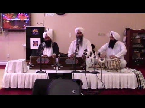Bhai Bhupinder Singh Ji Ganga Nagar Wale, Guru Nanak Sikh Temple, Fairfield , CA,  3-11-16 Part 2
