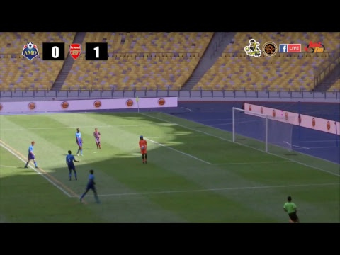 Siaran Langsung Perlawanan Akhir - U14 AMD Malaysia Cougars (MAS) VS Arsenal FC (ENG) (First Half)