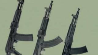 Автоматы калашникова (From AK-47 to AK-105)