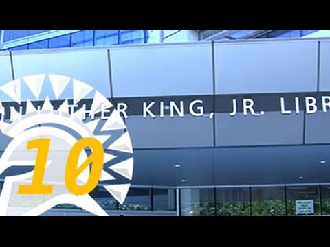 Spartan Spotlight 10: Welcome to the Martin Luther King, Jr. Library