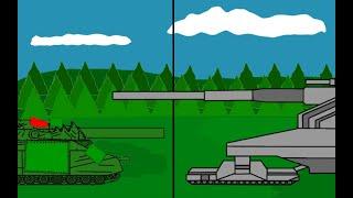 RATTE VS мини доры мультики про танки 10 серия 2 сезон