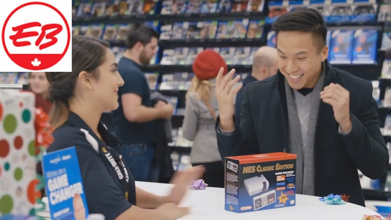 Yes 2.0 Holiday Commercial! | EB Games