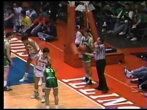 1989 IHSA Boys Basketball Class A Championship Game: Carlyle Vs. Rock Island (Alleman)