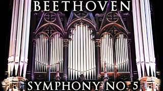 BEETHOVEN 5TH SYMPHONY - ORGAN - ST NICOLAS CHURCH - TOULOUSE LES ORGUES