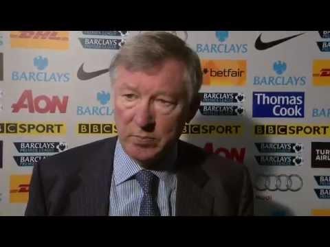 Manchester United vs Blackburn 2-3 - Sir Alex Ferguson (31-12-11) thumbnail